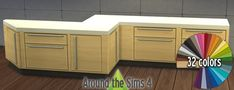 Around the Sims 4 | Free Custom Content for the Sims 4 | Object Download | Harbinger Kitchen recolors