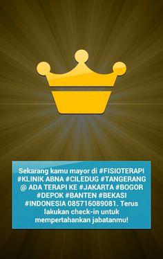 FISIOTERAPI #KLINIK ABNA #CILEDUG #TANGERANG @ PUSAT KESEHATAN PENDIDIKAN #INDONESIA @ YAYASAN ABNA RAFLESIA @ ADA TERAPI / BELAJAR KE RUMAH #JAKARTA #BOGOR #DEPOK #BANTEN #BEKASI DAN SELURUH PROVINSI DI INDONESIA @ PUSAT #TUMBUH KEMBANG #OKUPASI TERAPI (OT) #FISIOTERAPI (FT) #TERAPI BICARA #WICARA #PSIKOLOGI #ANAK BERKEBUTUHAN KHUSUS (ABK) #KESULITAN BELAJAR #STROKE #SENSORI INTEGRASI #KESULITAN BERAKTIFITAS #AUTIS #GANGGUAN PERILAKU #MASALAH MENTAL #SAKIT JIWA #REHABILITASI MEDIS #ANAK…