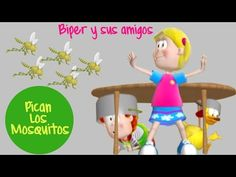Pican Los Mosquitos - Biper Y Sus Amigos - YouTube