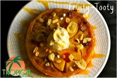 Try out this tasty dessert recipe, Fruity-Tooty, with Tropical Food's Banana Split Snack mix today! #Dessert #BananaSplit #RecipeLove http://www.tropicalfoods.com/7467/fruity-tooty-recipe/