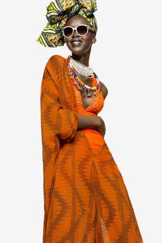 Mary Maguet for Flair Magazine's Editorial inspired by African Fashion - MEGASABI |Credits: Photos by Giulio Rustichelli | Styled by Margherita Moro