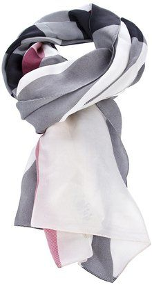 ShopStyle: BURBERRY 3753568 TRENCH CHECK ??? Silk