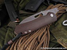 WR Bladeworks - Prometheous Friction Folder - Fort Henry Custom Knives