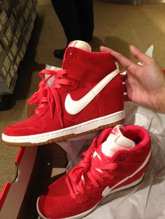My new kicks. Nike Sky High Dunks.
