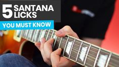 Five Santana Licks You Must Know - Carlos Santana Guitar Lesson Carlos Santana Smooth, Carlos Santana Guitar, Guitar Chords, Music Guitar, Acoustic Guitar, Guitar Tips, Guitar Lessons, Jim Morrison Movie, Backing Tracks