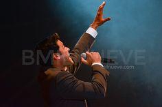 Carlos Rivera durante el inicio de su gira #YoCreoTourEspaña en el Málaga Auditorium Club
