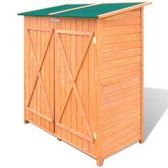 Delightful HOLZ Gerätehaus Geräteschuppen Gartenschrank Geräteschrank Gartenhaus #