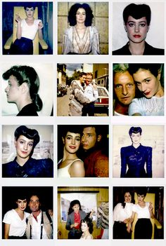 sean young's personal behind-the scenes polaroids from the set of blade runner circa 1981