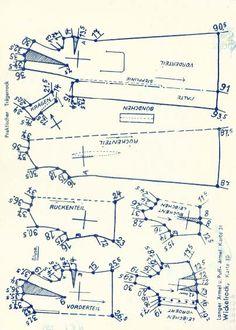 Lutterloh 1938 Book Of Cards -  Models Diagram Card 42