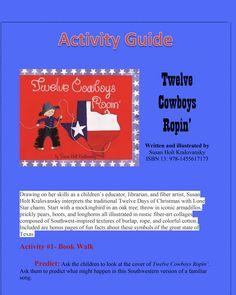 Twelve Days Of Christmas, Children's Books, Cowboys, Teacher, Activities, Education, Kid Books, Professor