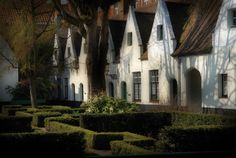 Beguinage houes, Bruges