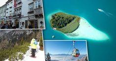 Villach - v zimě je cílem lyžařů, v létě se stává Alpským Karibikem.