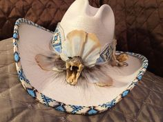 Beaded Hat Bands, Western Cowboy Hats, Love Hat, Illusion, Loom, Beading, Medicine, Cap, Fire