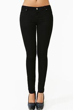 Stunner Skinny Jeans in Black