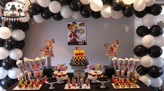 Mickey and the Roadster Racers Birthday Party by Partyscapes