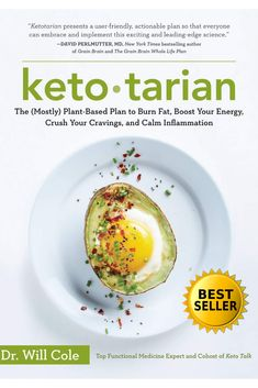 A new twist on keto: The fat-burning power of ketogenic eating meets the clean green benefits of a plant-centric plate. Health And Nutrition, Health And Wellness, Health Tips, Health Fitness, Grain Brain, Green Cleaning, Avocado Egg, Wellness Tips, Fat Burning