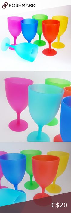 Frost, Plastic, Colours, Tableware, Glass, Check, Fabric, Shopping, Style