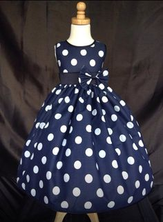 Girls Dress brown cream polka dot sleeveless holiday summer kids childrens new