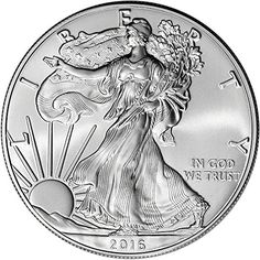 Coin: 2016 American Silver Eagle $1 Brilliant Uncirculated Us Mint