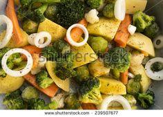 Vegetarian frozen meal