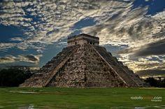 世界遺産 古代都市チチェン-イッツァの画像 古代都市チチェン-イッツァの絶景写真画像  メキシコ