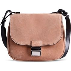 Proenza Schouler Small Leather Bag (1,375 CAD) ❤ liked on Polyvore featuring bags, handbags, shoulder bags, camel, beige handbags, proenza schouler handbag, camel purse, leather handbags and beige leather handbags