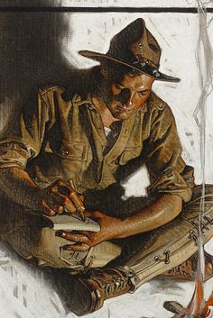 Leyendecker and The Saturday Evening Post - Norman Rockwell Museum Art And Illustration, American Illustration, Illustrations And Posters, Norman Rockwell, Figure Painting, Painting & Drawing, Jc Leyendecker, Traditional Paintings, Pulp Art