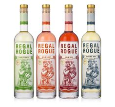 Regal Rogue Vermouth — The Dieline - Branding & Packaging