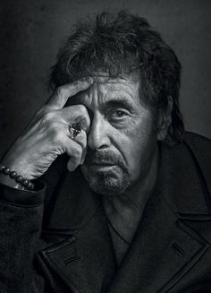 Al Pacino, photographed by Dan Winters for The New Yorker, September 15, 2014.