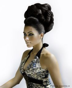1000 images about bridal bunsbouffants and updos etc on pinterest arabic hairstyles bridal hairstyles and bridal hair and makeup avant garde meets arabic