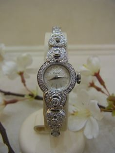 Damenuhr Piaget ca. 1,40ct Diamanten ca. 0,20ct Brillanten W-SI 585 Gold