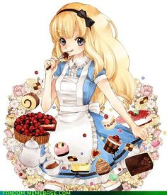 lattesandmusic:  Easy On the Sweets, Alice Favorite on We Heart Ithttp://weheartit.com/entry/61201164/via/PerowanHayashinasai