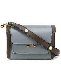 mini 'Trunk' shoulder bag $1,968 #Farfetch #newarrivals #marniDesigner