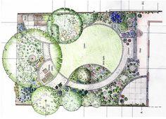 Small Garden Design Ideas – Greenest Way Garden Design Plans, Backyard Garden Design, Small Garden Design, Plant Design, Landscape Architecture Drawing, Landscape Plans, Landscape Design, Schematic Design, Planting Plan