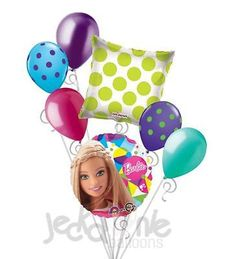 Happy birthday balloons, Star cluster and Balloon bouquet on Pinterest