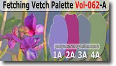 Fetching Vetch Palette by Polymer Clay Tutor http://www.beadsandbeading.com/blog/fetching-vetch-palette-premo-color-recipes-vol-062-a/17277/