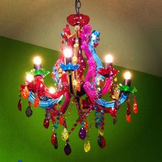 Colorful chandelier 2 for when i take to the road like a gypsy colorful chandelier 2 for when i take to the road like a gypsy pinterest chandeliers boho and bohemian aloadofball Gallery