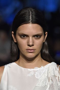 Bleached brows at Givenchy