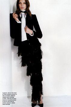 Daria Werbowy by Karl Lagerfeld for Numéro #51