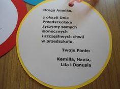 Znalezione obrazy dla zapytania dzień przedszkolaka medal