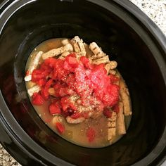 I am breaking out the #crockpot for a #vegan version of the #slowcooker chicken burrito bowls with spiralized #sweetpotato rice recipe by @inspiralized Looking forward to tasting this one a lot!! #healthyfood #healthyeating #meatless