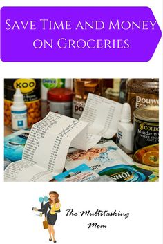 Save Time and Money on Groceries