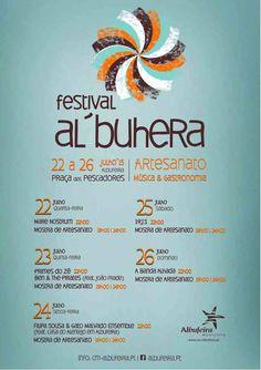 Festival Al`Buhera - Albufeira 2015 programa