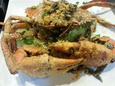 Salted Egg Yolk Crab #ILoveCrab