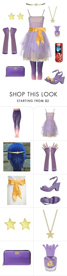 """""""Lumpy Space Princess-Adventure Time"""" by conquistadorofsorts ❤ liked on Polyvore featuring BZR, RED Valentino, L. Erickson, Roberto Del Carlo, Jennifer Meyer Jewelry, Dolce&Gabbana and Disney"""