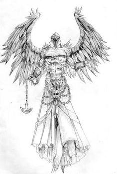 archangel tattoo designs - Pesquisa Google