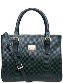 handbag-python-green #corello
