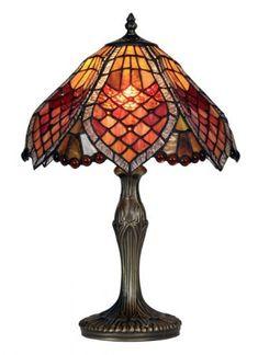 Orsino Tiffany Table Lamp from Oaks Tiffany Stained Glass, Stained Glass Lamps, Leaded Glass, Tiffany Lamp Shade, Tiffany Table Lamps, Antique Lamps, Vintage Lamps, Chandelier Design, Chandeliers