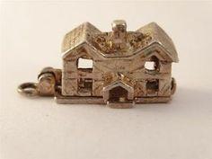 RARE Vintage English Sterling Silver Opening Nuvo Pub Charm 4 4G | eBay
