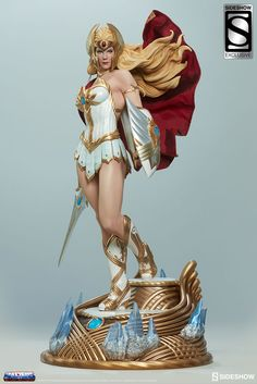 Prepare for the Princess of Power as we take a look at the upcoming She-Ra Statue from our Masters of the Universe collection!